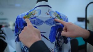 Optitex has implemented, together with management at Roberto Cavalli, a specific solution known as Printed Fabric, which is capable of optimising the design process for printed fabric garments