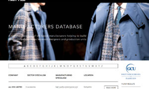New Database Lists the British Textile High-End Manufacturers