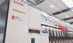 2.5-Millionth Autoconer Winding Unit in Operation