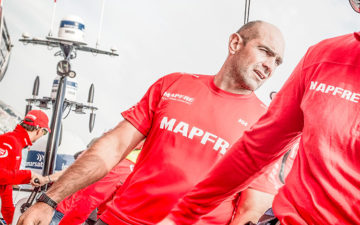 Mapfre team at Volvo Ocean Race will dress with helly hansen apparel made with merino wool